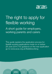 The right to apply for A short guide for employers, working parents and carers ...