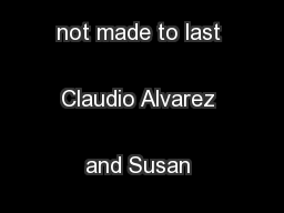 4 BRAND FLINGS When great brand relationships are not made to last Claudio Alvarez and Susan Fournier Although Foumier (1998) identified  ... PowerPoint PPT Presentation