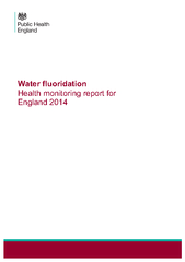 of hospital admissions in children. Fluoride is a naturally occurring