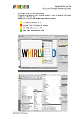 14/02/2014   Approved by: Preprint Manager 1. In Illustrator create yo
