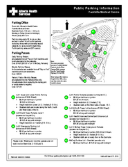 Public Parking InformationFoothills Medical Centre