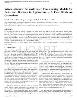 International Journal of Advancements in Research & Technology, Volume