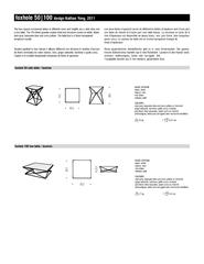foxhole 100 low table / tavolino