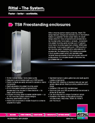 TS8 Freestanding enclosures PowerPoint PPT Presentation