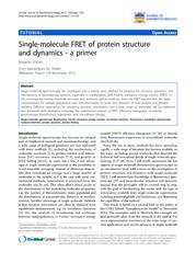 TUTORIALOpenAccessSingle-moleculeFRETofproteinstructureanddynamics-apr