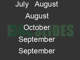 July   May   July   July   September   July   August   August   October   September   September   October   OctoberNovember  Oct
