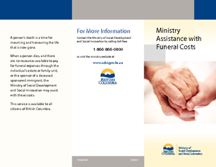 Ministry Assistance with Funeral Costs
