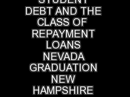 NET PRICE COLLEGES DEBT TUITION TUITION REPAYMENT  HIGH DEBT STUDENT DEBT AND THE CLASS OF  REPAYMENT LOANS NEVADA GRADUATION NEW HAMPSHIRE TUITION CALIFORNIA HIGH DEBT ARIZONA MINNESOTA LOANS WYOMING PowerPoint PPT Presentation