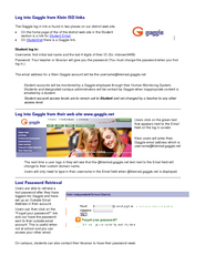 The Gaggle log in link is found in two places on our district web site