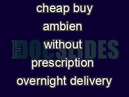 cheap buy ambien without prescription overnight delivery