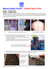 information available on this Safety Flash and our associated web site