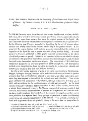[ 575 ] XVIII. THE BAKERIAN LECTURE.-On the Continuity of the Gaseous