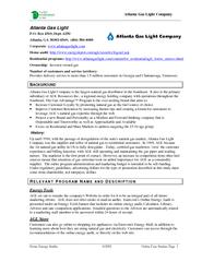 Atlanta Gas Light Company
