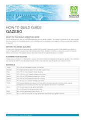 hoW-to-build GuideGazebo