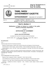 GOVERNMENT OF TAMIL NADUNADU 2015[Price:  Rs. 2.40 Paise.