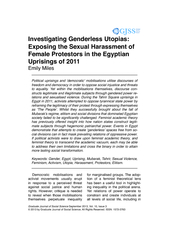 Graduate Journal of Social Science