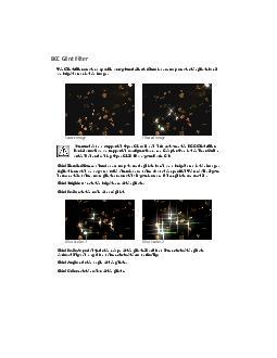 BCC Glint Filter