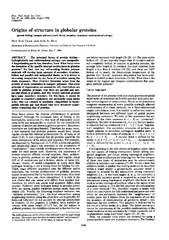 Proc.Nati.Acad.Sci.USAVol.87,pp.6388-6392,August1990ChemistryOriginsof
