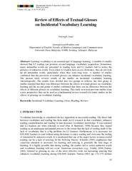 International Journal of Innovative Ideas (IJII)