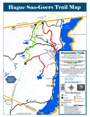 Hague Sno-Goers Trail Map