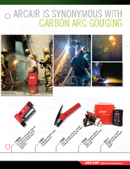 ARCAIR IS SYNONYMOUS WITH  CARBON ARC GOUGING