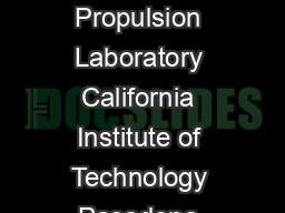 Disturb Testing in Flash Memories Douglas Sheldon Jet Propulsion Laboratory California Institute of Technology Pasadena California Michael Freie Semiconductor Solutions Inc