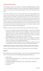 Page of SPORTS GRADATION POLICYPolicy regarding reservation of seats i