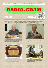 Radiogram Issue 121 August 2012