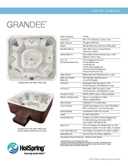 Grandee shown with Grandee shown with Alpine White shell / Mocha cabin