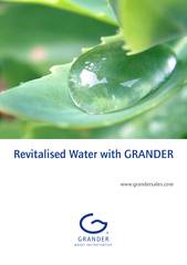 Revitalised Water with GRANDERwww.grandersales.com