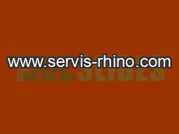 www.servis-rhino.com