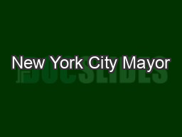New York City Mayor's Office of LongTerm Planning and Sustainabil PowerPoint PPT Presentation