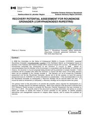 Newfoundland & Labrador Region Canadian Science Advisory SecretariatSc
