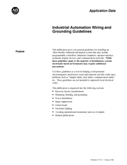 Industrial Automation Wiring andprogrammable controllers, industrial c