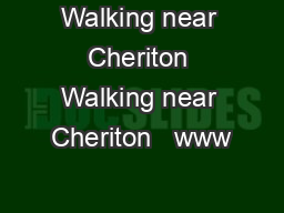 Walking near Cheriton Walking near Cheriton   www