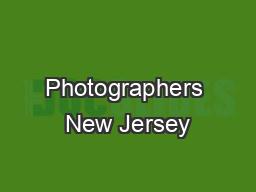 Photographers New Jersey