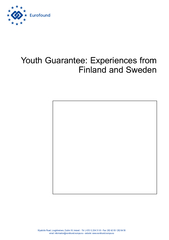 Youth Guarantee: Experiences from