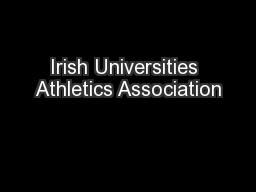 Irish Universities Athletics Association