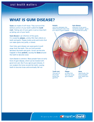 WHAT IS GUM DISEASE?